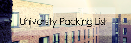 University Packing List